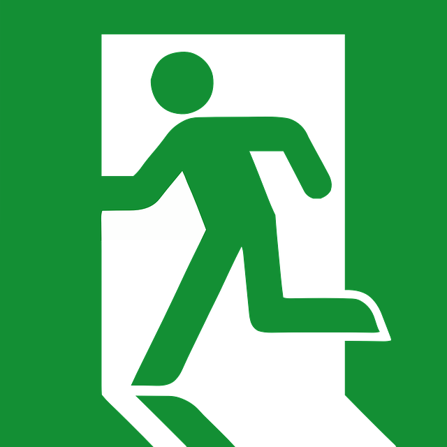 Fire Exit Line Marking